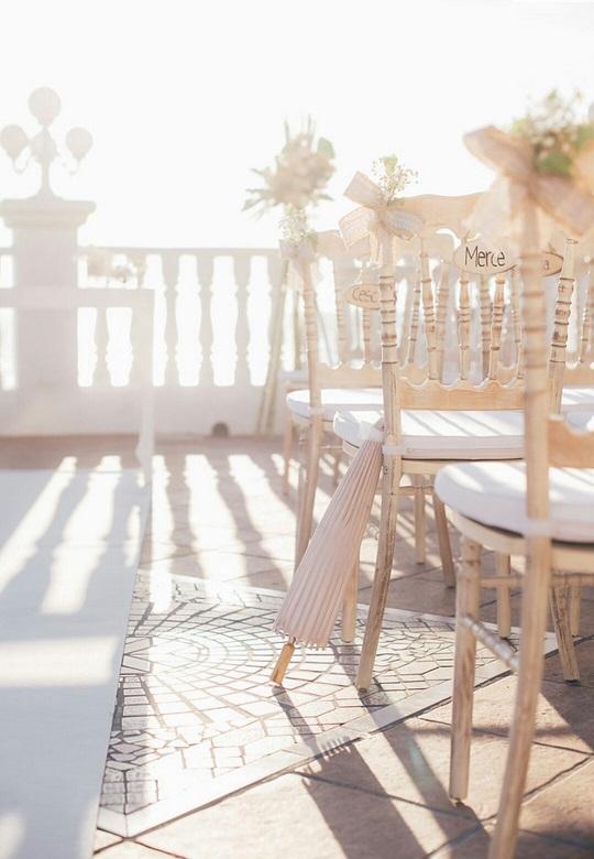 Detalles sillas invitados