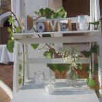estantería decorativa